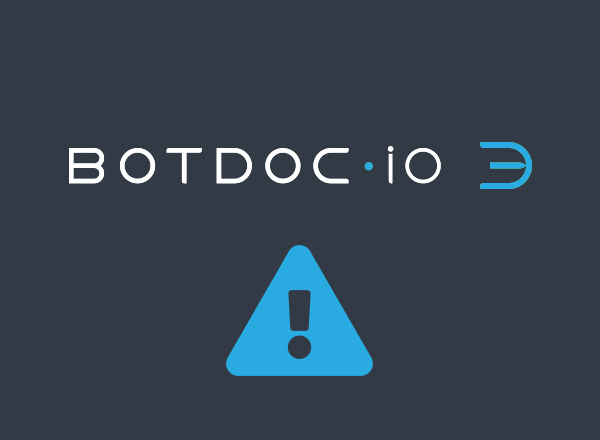 Botdoc APP Planned Maintenance Outage/Updates November 8, 2020